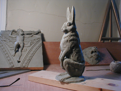Hare for Chocolate mold