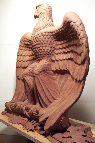 Eagle in Clay2