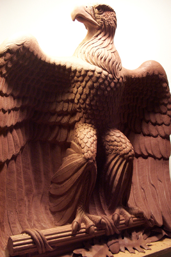 Eagle in Clay