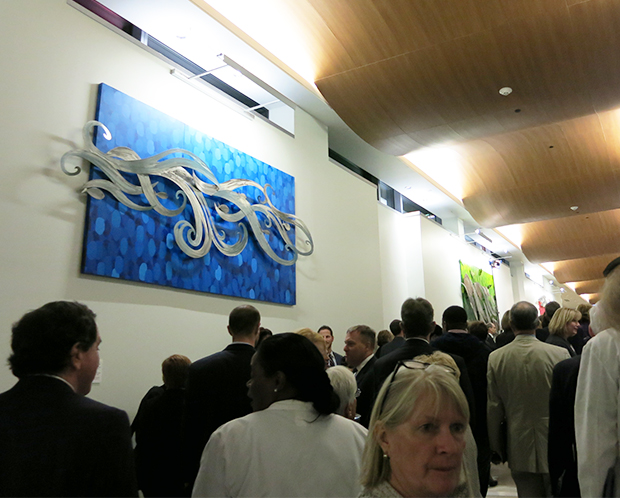 Holy Cross Hospital opening reception 2015