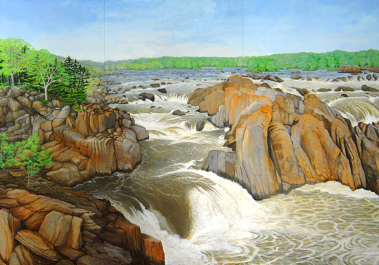 Detail of Great Falls